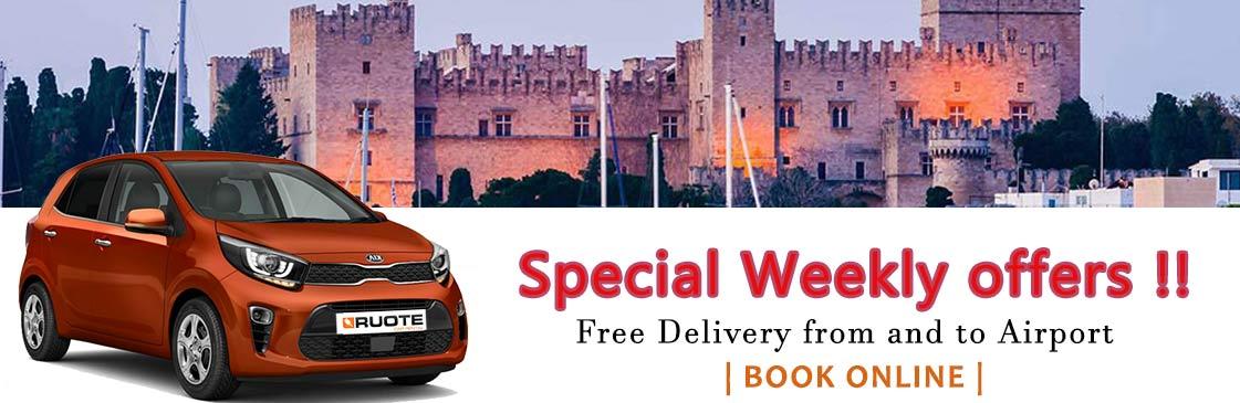 Ruote Rent A Car In Rhodes Greece Rhodes Car Rentals Car Rental